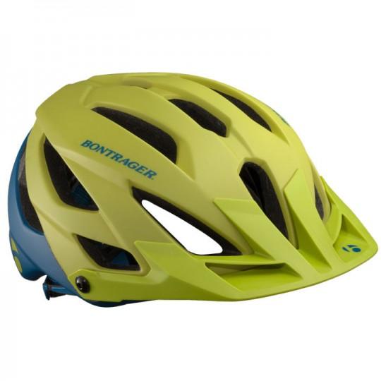 bontrager lithos helm groen blauw