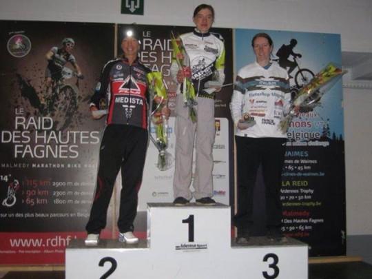 podium malmedy marathon