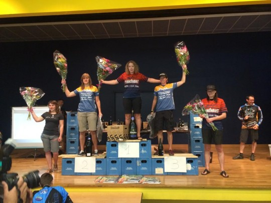 podium dames enduro semoy