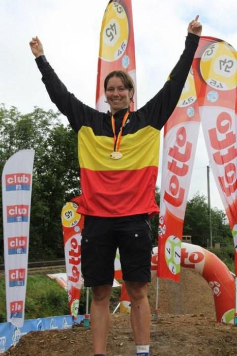 kristien nele belgisch kampioen dh