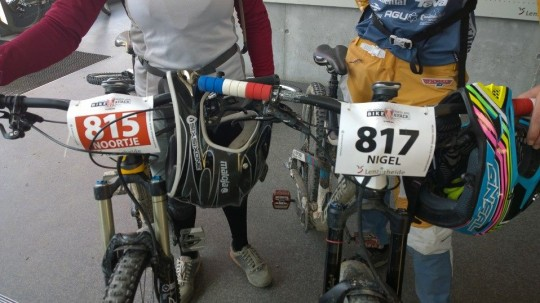nummerbord trek bike attack